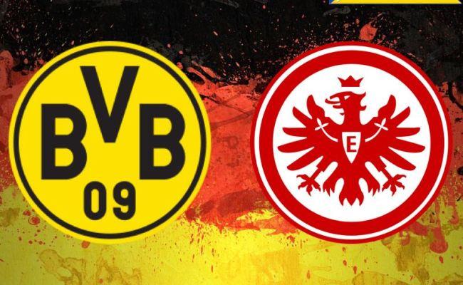 Borussia Dortmund Vs Eintracht Frankfurt Bundesliga