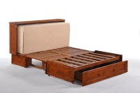Night & Day Clover Murphy Cabinet Bed - Futon d'or ...