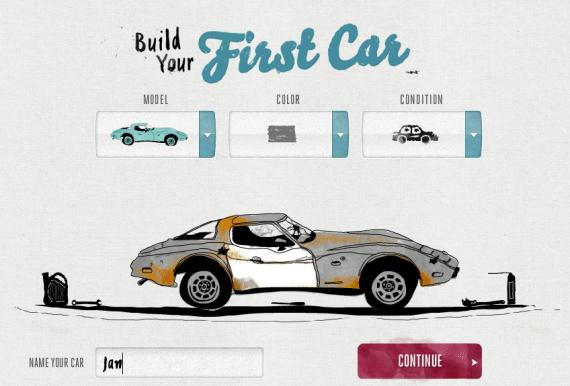 Kampagne von Subaru - First Car Story