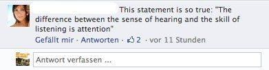 Facebook Kommentar-Funktion- Antworten verfassen