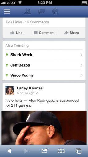 Facebook Hashtags - Trending Topics