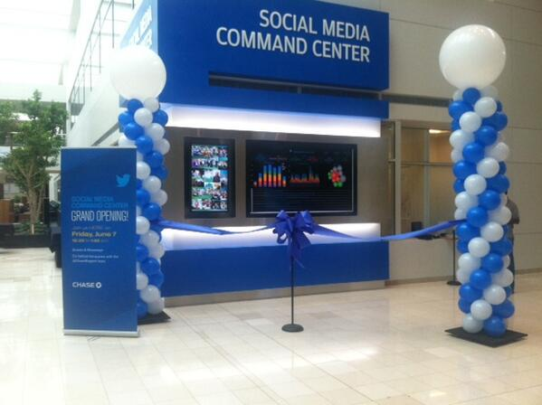 Social Media Command Center Chase