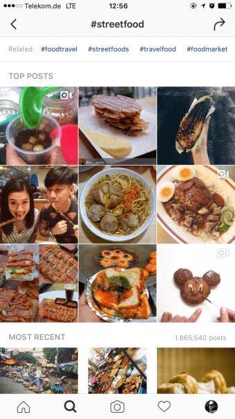 instagram-marketing-hashtags-in-der-instagram-suche