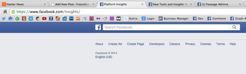Facebook Domain Insights - Bug