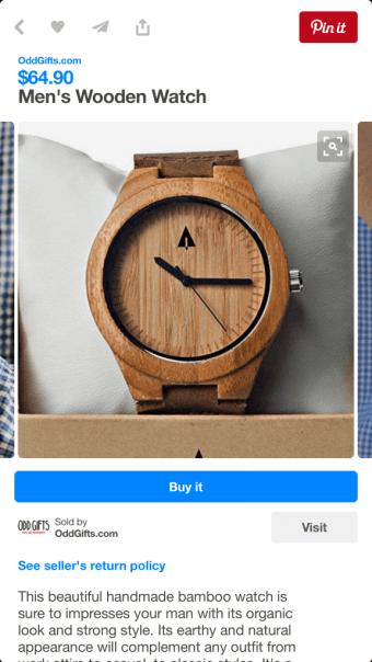 Pinterest Buyable Pins - Check Out direkt auf Pinterest