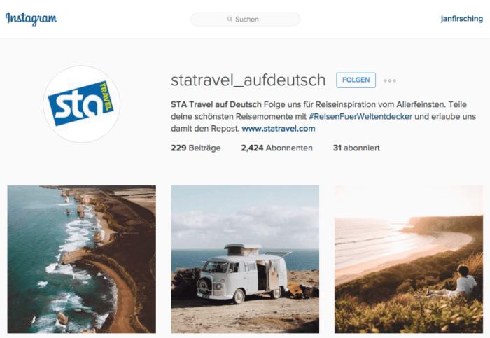 Umgang mit Instagram User Generated Content - Einsatz von Hashtags