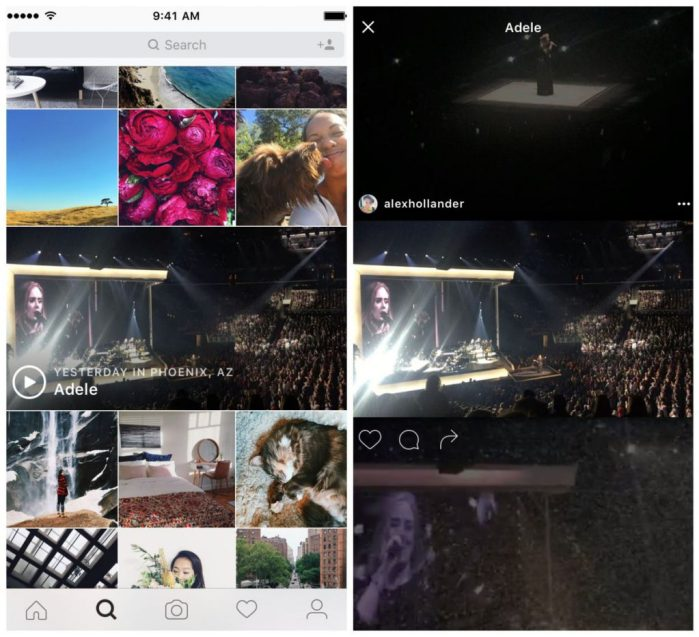 Instagram Videos - Eigene Video Channels Events und Veranstaltungen