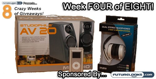 Week Four of Eight Crazy Weeks of Free Stuff
