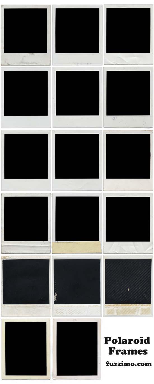 Free Hi-Res Blank Polaroid Frames fuzzimo