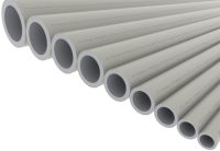 PPR plastic pipes for welding