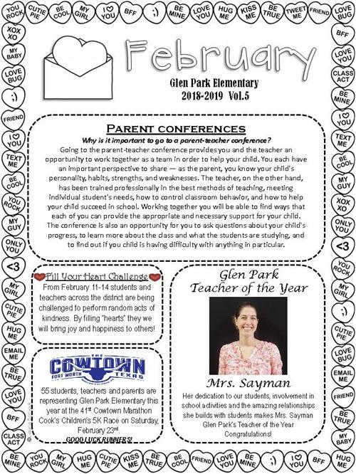 Family Newsletters