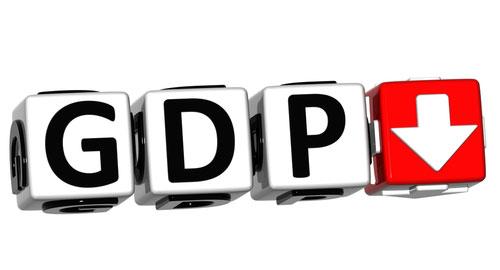日本のGDPがマイナス成長を記録