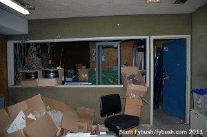 WZAZ's old studio