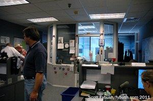 The WDBO newsroom