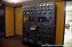 The old WDBO transmitter