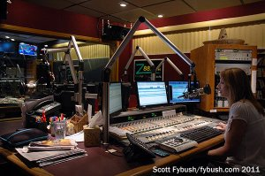 WPOZ's main air studio