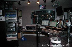 The WPYO 95.3 studio
