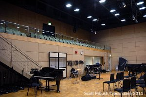 One view of the big studio
