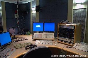 A studio for RTE Radio 1
