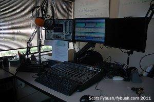 The studio, close up