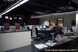 KDKA's new newsroom