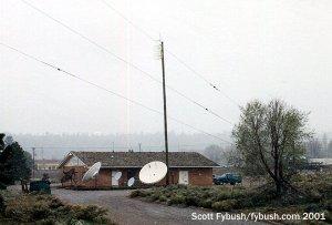 KVNA's studios, 2001