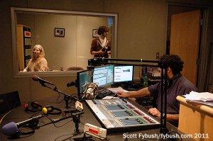 Larry in the studio