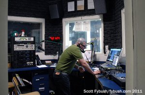 In the WRCT studio