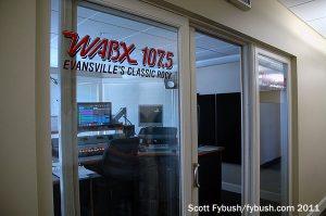 WABX's studio