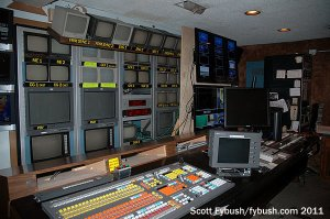 Old WFIE control room...