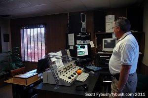 The WITZ AM studio