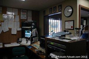 The WQKZ studio