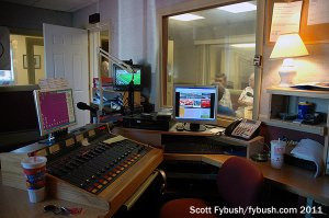 WRHK's studio