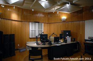 WBST's talk studio