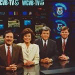 The WCVB team in its heyday