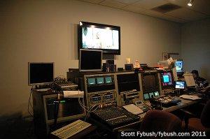WDNI control room...