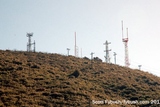 Mount Miguel, from below