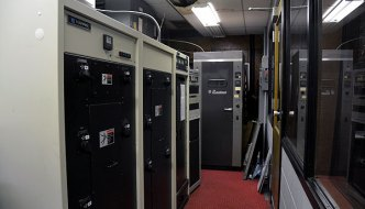 WGL's transmitter room