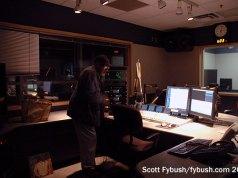 WRTI's air studio