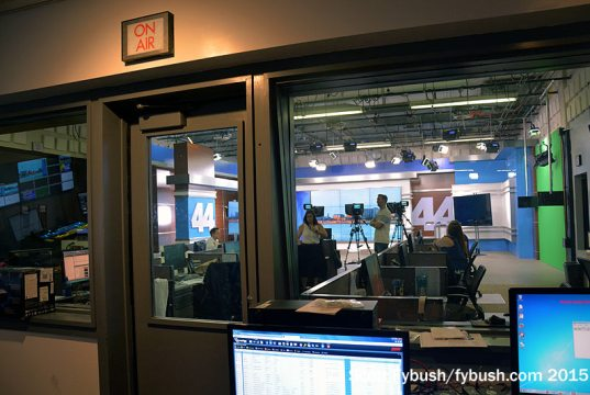 Looking into the WEVV studio