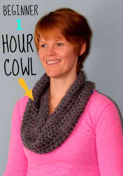 Make this in 1 hour, and only 1 ball of yarn! would make an awesome cheap gift