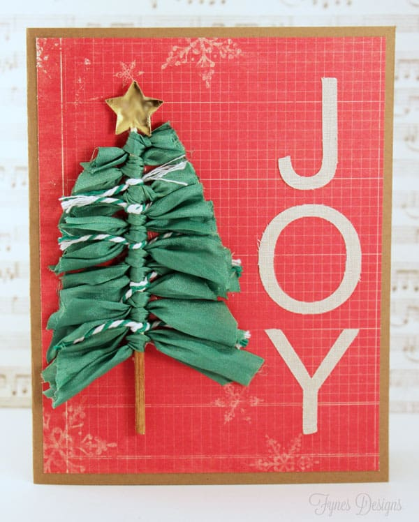 Ribbonista christmas card ideas a simple skewer tree fynes designs fynes designs for Where can i use my synchrony home design card