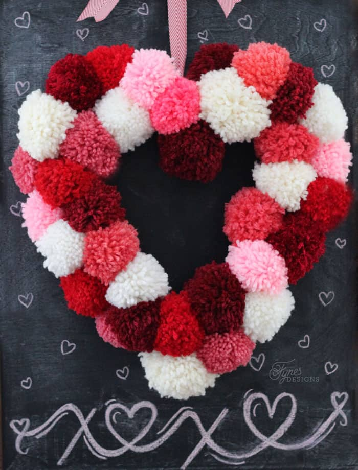 How to make a heart shaped wreath form for only $2