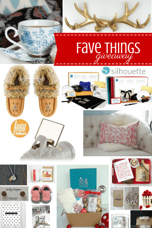 Fav Things Holiday Giveaway