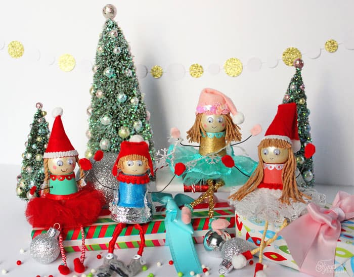 Little Christmas Elf craft for kids