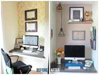 Small Home Office Makeover - FYNES DESIGNS   FYNES DESIGNS