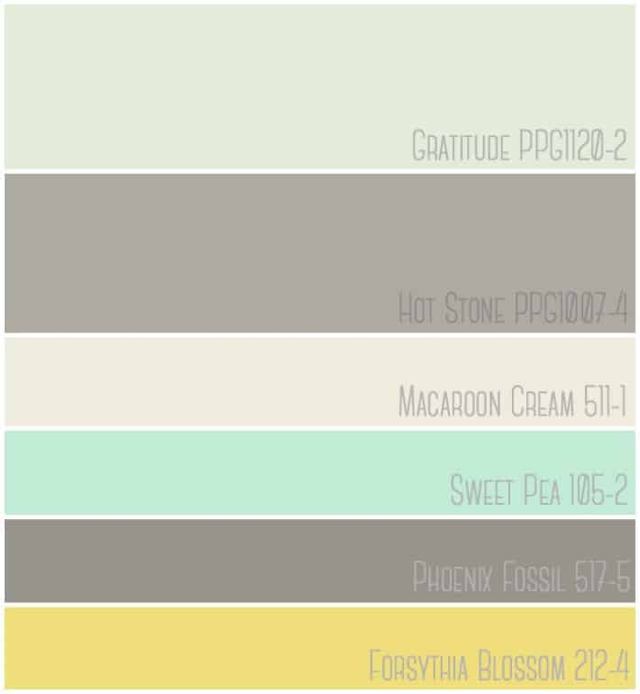 Fresh modern farmhouse inspired Master bedroom paint colors