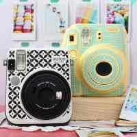 DIY Instax Camera Sticker- FREE Silhouette Cut File