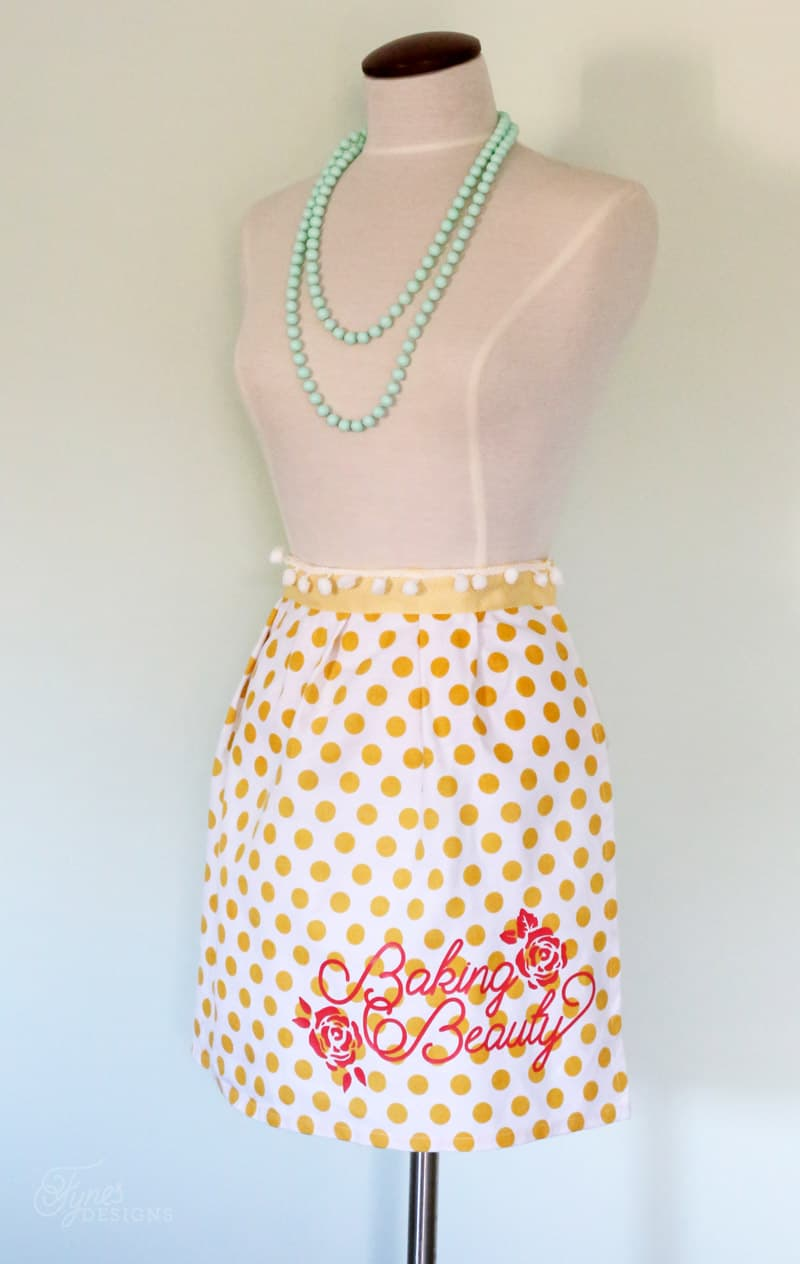 Mother S Day Gift Idea Free Silhouette Apron Cut File