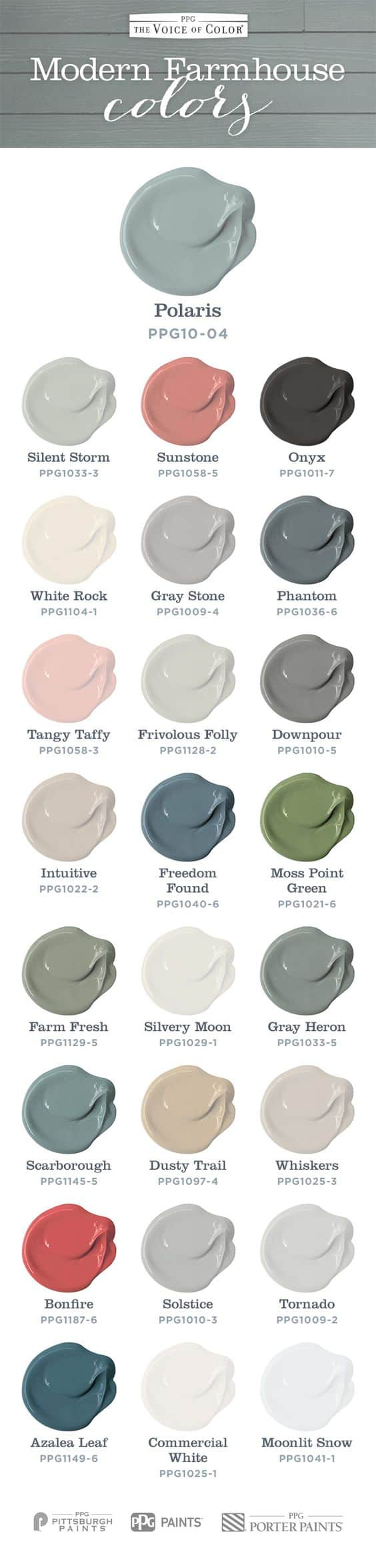 Modern Farmhouse Colors From Voice Of Color Fynes